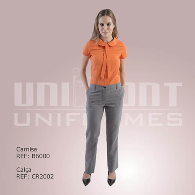 Uniforme Laranja Unimont