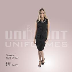 Uniforme Inteiro Preto Unimont