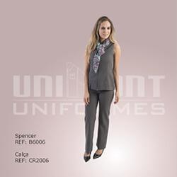 Unimont Uniformes Social com Cachecol