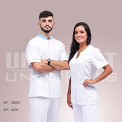 Uniforme Hospitalar Feminino Masculino Unimont